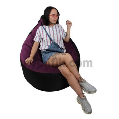 Мягкое кресло пуф Комфорт: фото Mypufik