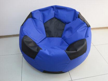 Кресло мяч черно-синий: фото 09