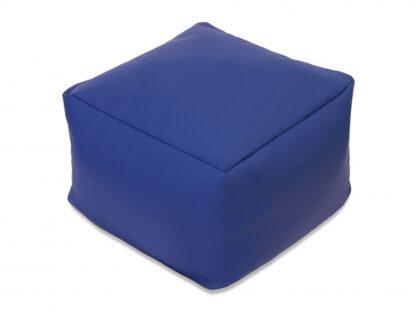 Пуф Куб синий