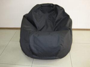 Черное кресло груша