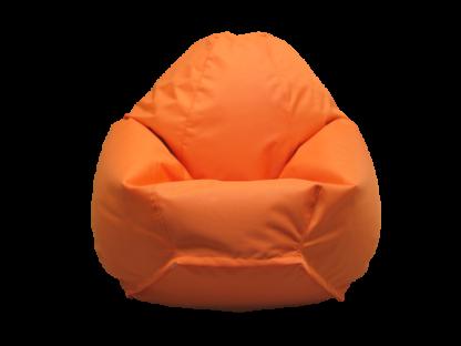 оранжевое кресло груша