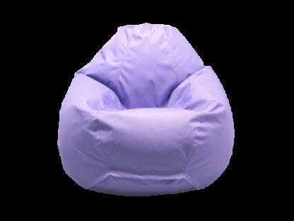 кресло груша сиреневого цвета