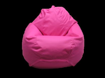 кресло груша малинового цвета